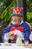 Die wütende Hutmacher-Teeparty Lizenzfreie Stockfotografie