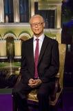 Die Wachsfigur von Goh Chok Tong Former Prime Minister von Singapur in Madame Tussauds Singapore lizenzfreie stockbilder