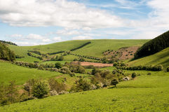 Die Waliser-Landschaft Stockfoto