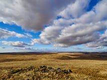 Die Waliser-Wüste Stockfotografie
