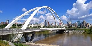 Die Walterdale-Brücke stockfoto