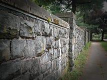 Die Wand Stockbild