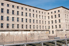 Die Wand, Berlin Stockbild