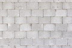Die Wand der Bausteine Stockbild