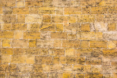 Die Wand der Sandsteinbeschaffenheit Stockfotografie