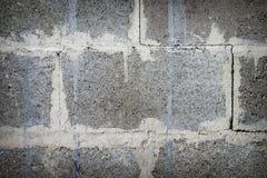 Die Wand des Blockhintergrundes Stockbild