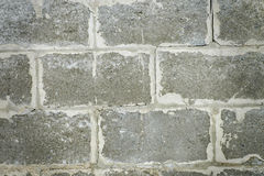 Die Wand des Blockhintergrundes Lizenzfreies Stockbild