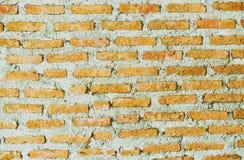 Die Wand des roten Backsteins in der Weinleseszene Lizenzfreies Stockbild