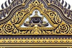Die Wand des Tempels Stockbilder