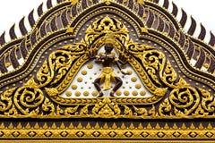 Die Wand des Tempels Stockbild
