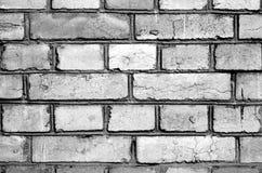 Die Wand von alten Ziegelsteinen 2 Lizenzfreies Stockfoto