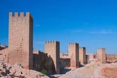 Die Wand von Artajona, Artajona, Navarra Lizenzfreie Stockbilder