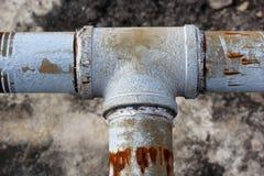 Die Wasserleitungen. Lizenzfreies Stockfoto
