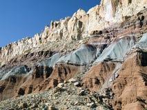 Die Waterpocket Falte, Kapitol-Riff NP, Utah stockfoto