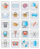 Die Web-Ikone. vektorbild. Lizenzfreie Stockfotos