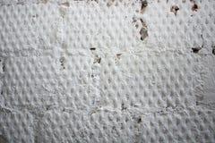 Die weiße konkrete alte Beschaffenheitswand des Schmutzes Lizenzfreie Stockfotos