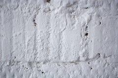Die weiße konkrete alte Beschaffenheitswand des Schmutzes Lizenzfreies Stockbild
