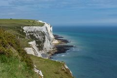 Die weißen Klippen von Dover Lizenzfreie Stockfotos
