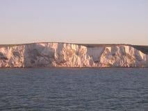 Die weißen Klippen von Dover. lizenzfreie stockfotos