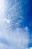 Die Weißwolken. Stockfotos
