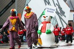 Die Weihnachtsmann-Parade 2008 Lizenzfreie Stockfotografie