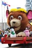 Die Weihnachtsmann-Parade 2008 Lizenzfreie Stockbilder