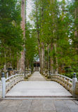 Die Weise in Okunoin-Friedhof Kayasan, Wakayama Japan Stockfotografie