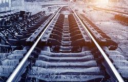 Die Weisenvorwärtseisenbahn im Porzellan Lizenzfreie Stockfotos