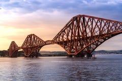 Die weiter Br?cke Edinburgh lizenzfreies stockbild