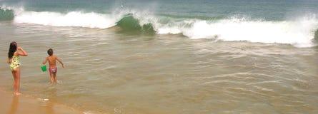 Die Welle Stockfoto