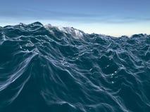 Die Welle Stockbild