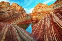 Die Welle Utah stockfotos