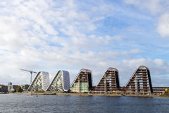 Die Welle in Vejle, Dänemark Lizenzfreie Stockfotos