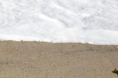 Die Wellen in der Küstenlinie Lizenzfreies Stockbild