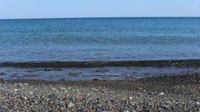 Die Wellen im Marmaris stock footage