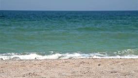 Die Wellen Schwarzen Meers stock video footage