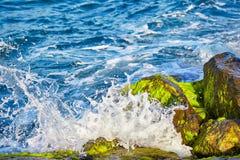 Die Wellen von Bosphorus stockbilder