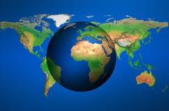 Die Welt stock abbildung