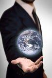 Die Welt in meiner Hand stockbilder