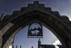 Die Welt von Harry Potter Lizenzfreies Stockfoto