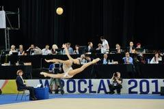 Die Weltspiele 2017 in Breslau, Polen Stockbild