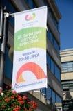 Die Weltspiele 2017 in Breslau, Polen Lizenzfreies Stockbild