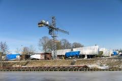 Die Werft Stockfotografie