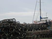 Die Werkzeuge des Fischers Lizenzfreie Stockfotografie