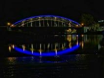 Die Weserbrücke in Rinteln. Bridge in Germany royalty free stock photography