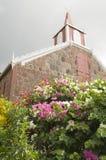 Die Wesleyan Heiligkeit-Kirche Saba Holländer-Niederlande stockbild