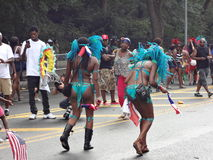 Die 2013 westindische (Werktags-) Parade 12 Stockbild
