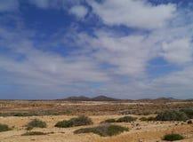 Die Westküste von Fuerteventura Stockfotos
