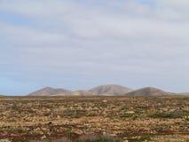 Die Westküste von Fuerteventura Lizenzfreie Stockfotos