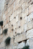 Die westliche Wand Stockfotografie